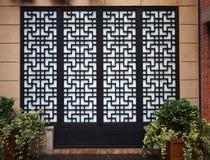 Chinees Deuren en Venster Royalty-vrije Stock Afbeeldingen