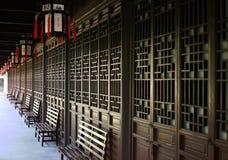 Chinees Deuren en Venster Stock Afbeeldingen