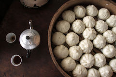 Chinees Dim Sum Royalty-vrije Stock Afbeelding