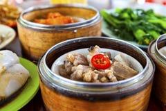 Chinees dim sumvoedsel Royalty-vrije Stock Afbeeldingen