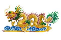 Chinees draakbeeld Stock Foto