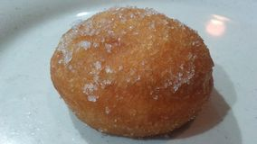 Chinees Fried Donut op Plaat royalty-vrije stock fotografie