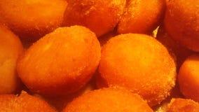 Chinees Fried Donuts bij Buffetrestaurant in de Stad van Jersey, NJ stock foto