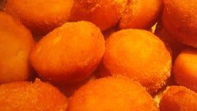 Chinees Fried Donuts bij Buffetrestaurant in de Stad van Jersey, NJ royalty-vrije stock foto's