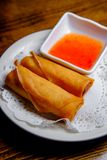 Chinees Fried Spring Rolls royalty-vrije stock foto