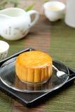 Chinees gebakje [de cake van de Maan] royalty-vrije stock fotografie