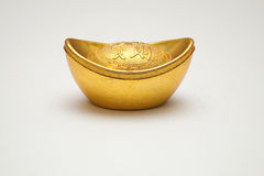 Chinees gouden symbool Stock Fotografie