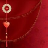 Chinees hart stock illustratie