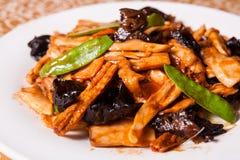 Chinees heerlijk voedsel stock foto