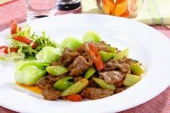 Chinees heerlijk voedsel stock foto's