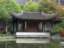 Chinees houtsnijwerk Royalty-vrije Stock Fotografie