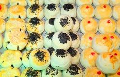 Chinees inheems oud dessert genoemd peer Kanom Stock Foto