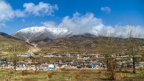Chinees landelijk dorp Stock Foto