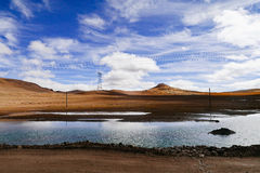 Chinees landschap Stock Foto