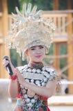 Chinees Miao Actress royalty-vrije stock afbeelding