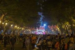 Chinees Nieuw jaar 2015 Guangzhou, China Royalty-vrije Stock Foto's