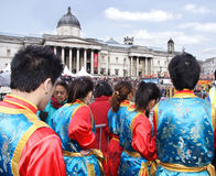 Chinees nieuw jaar, Londen Stock Fotografie