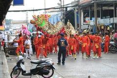 Chinees Nieuw jaar, Thailand. Stock Foto