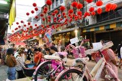 Chinees nieuw jaar in Thailand Stock Foto's