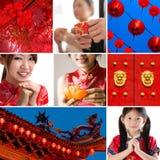 Chinees nieuw jaarconcept Stock Foto