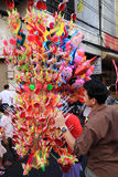 Chinees Nieuwjaar 2012 - Bangkok, Thailand Royalty-vrije Stock Foto's