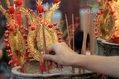Chinees Nieuwjaar 2012 - Bangkok, Thailand Stock Afbeelding