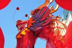 Chinees Nieuwjaar Bangkok Royalty-vrije Stock Afbeeldingen