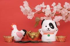Chinees Nieuwjaar 2018 concept Stock Afbeeldingen