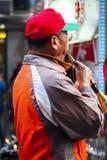 Chinees Nieuwjaar, Lantaarnfestival, de Volksdouane van Taiwan, Zegenend Ceremonie en Parade, stock foto's