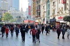 Chinees Nieuwjaar in Shanghai Royalty-vrije Stock Afbeeldingen
