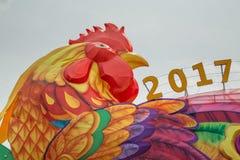 Chinees Nieuwjaar 2017 in Singapore Stock Foto's
