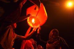 Chinees Nieuwjaar 2566 in solo Royalty-vrije Stock Foto's