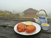 Chinees ontbijt Stock Foto