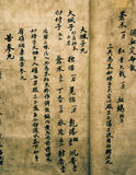 Chinees oud medisch boek Royalty-vrije Stock Afbeelding