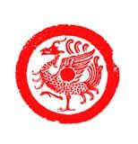Chinees oud tegelspatroon Stock Afbeelding
