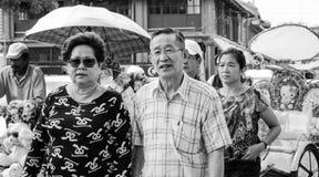 Chinees paar royalty-vrije stock afbeeldingen