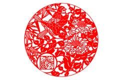 Chinees papier-besnoeiing art. Royalty-vrije Stock Foto's