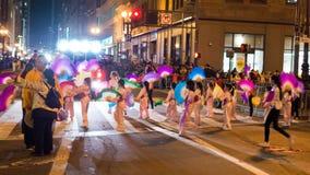 Chinees paradeert 2016 San Francisco CA Stock Fotografie