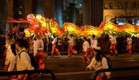 Chinees paradeert 2016 San Francisco CA Royalty-vrije Stock Fotografie