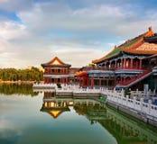 Chinees paviljoen royalty-vrije stock afbeelding