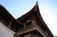 Chinees Paviljoen in Dunhuang royalty-vrije stock afbeeldingen
