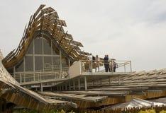 Chinees Paviljoen in Expo 2015 Royalty-vrije Stock Foto's