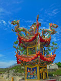 Chinees paviljoen in Penghu, Taiwan Royalty-vrije Stock Afbeeldingen