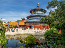 Chinees Paviljoen, Wereldshowcase, Epcot Stock Foto