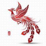 Chinees Phoenix Royalty-vrije Stock Fotografie