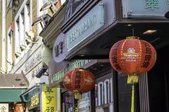 Chinees restaurant Royalty-vrije Stock Afbeeldingen