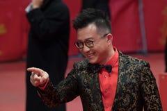 Chinees Richard Shen tijdens Berlinale 2018 Royalty-vrije Stock Afbeeldingen