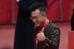 Chinees Richard Shen tijdens Berlinale 2018 Royalty-vrije Stock Foto's