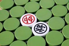 Chinees schaak royalty-vrije stock fotografie
