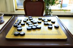 Chinees schaak royalty-vrije stock foto's